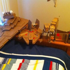 Star Wars em caixas de papel