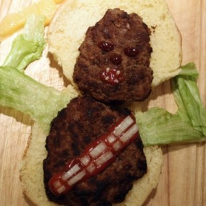 Hora do Almoço! - Chewbacca Burger