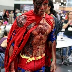 Superman Zumbi - Cosplay