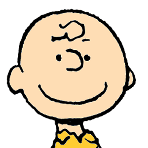 how to draw charlie brown face