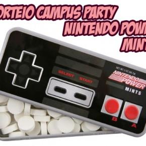 Sorteio Campus Party - Nintendo Power Mints