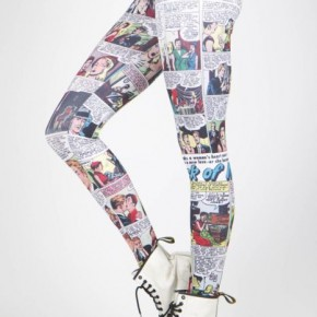 Desejo Nerd do Dia - Legging Comics