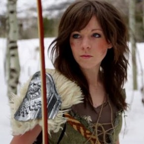 Skyrim - Lindsey Stirling & The Dovahkiin