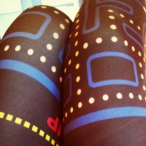 Desejo Nerd do Dia - Legging Pac Man