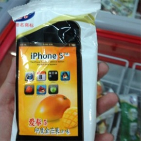 iPhone 5 Comestvel