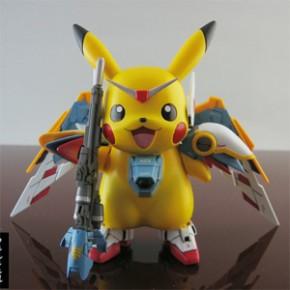 Pikachu Wing - Fusão de Pokémon e Gundam
