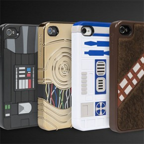 Star Wars - Cases Oficiais para iPhone 4