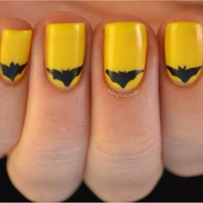 Unhas Artsticas inspiradas em Batman