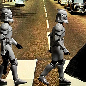 Cloned Photos - Star Wars em Fotos Históricas