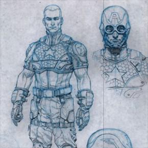 Marvel NOW! - Novo Uniforme do Capitão América