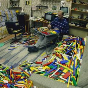 LEGO - 65.000 peças separadas por cor