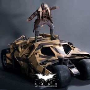 O Cavaleiro das Trevas Ressurge - Action Figure Bane e Tumbler