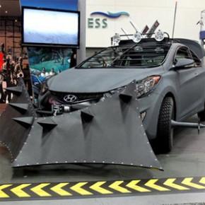 Hyundai lança versão real do carro The Walking Dead