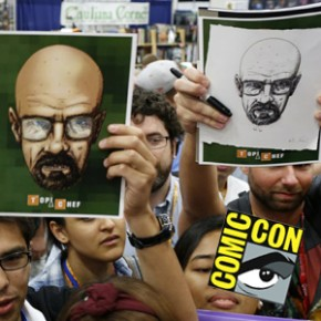 Breaking Bad - Sessão deu autógrafos na San Diego Comic Con 2012