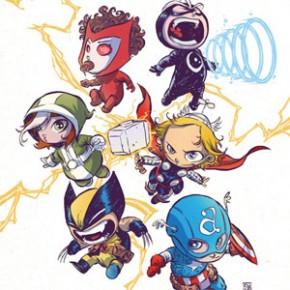 Os Vingadores e X-Men - Versão Bebê