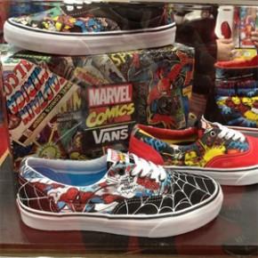 Tênis Vans da Marvel!