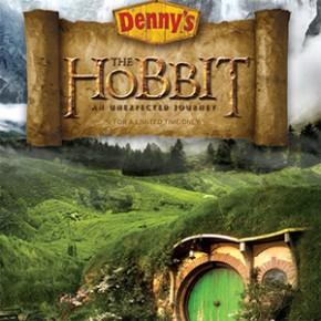 O Hobbit - Cardápio Especial no Restaurante Denny's