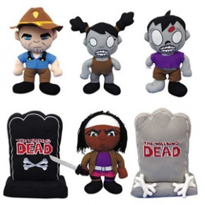 The Walking Dead - Bonecos de Pelúcia