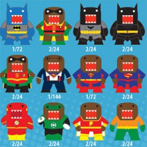 Domo-Kun versão DC Comics!
