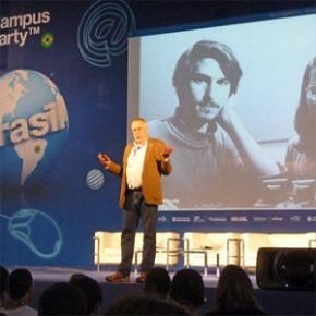 Campus Party - Palestra do fundador da Atari Nolan Bushnell