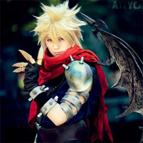 Kingdom Hearts - Cosplay de Cloud Strife