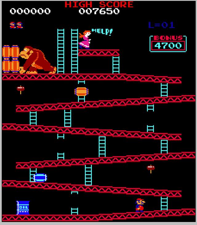donkey kong the original game