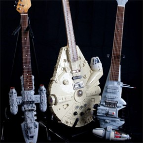 Star Wars - Guitarras Customizadas