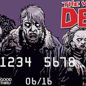 The Walking Dead - Cartões de Crédito de Verdade!