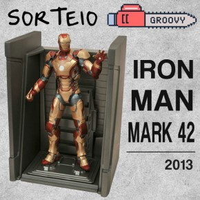Resultado Sorteio Groovy Toy Shop - Iron Man Mark 42