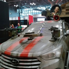New York Comic Con - Carros customizados!
