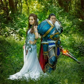 Casamento com Cosplays de World of Warcraft!