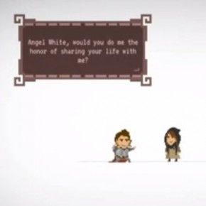 Pixel Proposal - Pedido de casamento em game!