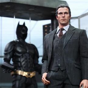 Batman: O Cavaleiro das Trevas - Action Figure Bruce Wayne e Alfred