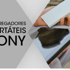 Carregadores Portáteis Sony - Seus gadgets nunca mais ficarão sem bateria!