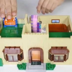 LEGO - Vídeo de Montagem e Review da Casa dos Simpsons!