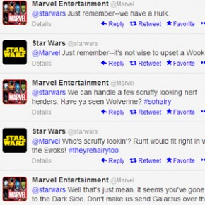 Star Wars, Marvel e Breaking Bad - Duelos Épicos no Twitter!