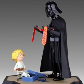 Darth Vader and Son e Vader's Little Princess - Figuras Adoráveis!