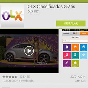 Aplicativo OLX - Desapeguei!