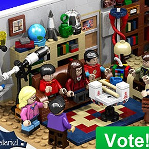 LEGO - Apartamento e Personagens de The Big Bang Theory