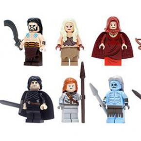 Game of Thrones - Minifiguras de LEGO