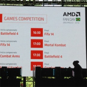 AMD Fan Day – Campeonatos de Games e Prêmios