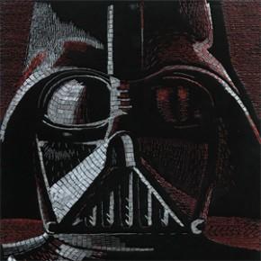 Star Wars - Mosaicos feitos de grampos