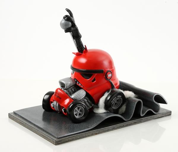 Capacetes De Stormtroopers Viram Obras De Arte
