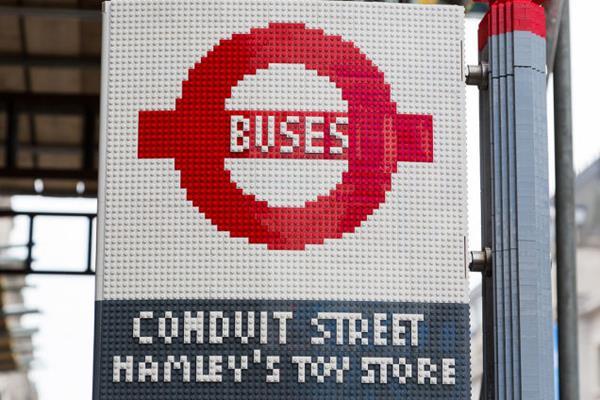 Ônibus Londres LEGO