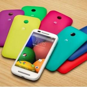 Motorola Moto E DTV Colors - estilo, resistência e excelente configuração!