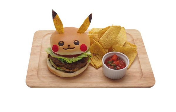 Pokémon - Pikachu Hamburguer