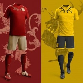Game of Thrones - Uniformes da Copa de Westeros