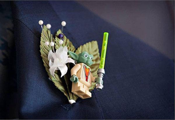 Yoda Casamento Nerd