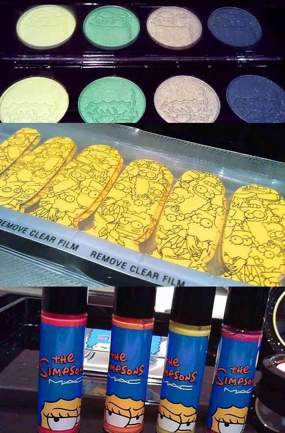 Maquiagem MAC Marge Os Simpsons