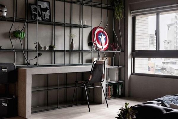 Decoração apartamento Marvel